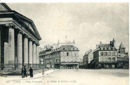 N°1740 R -cpa Caen -le Palais De Justice- - Caen