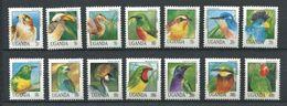 264 - OUGANDA 1992 - Yvert 908/20 + 960 - Oiseau - Neuf ** (MNH) Sans Trace De Charniere - Ouganda (1962-...)