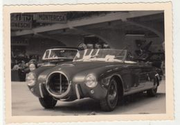 AUTO CAR VOITURE NON IDENTIFICATA - FOTO ORIGINALE SALONE TORINO? - Automobiles