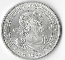 PORTUGAL. AÑO 1968. 50 ESCUDOS PLATA. PEDRO ALVARES CABRA. PLATA 650 - Portugal