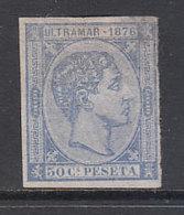 Cuba Sueltos 1876 Edifil 37s (*) Mng - Kuba (1874-1898)