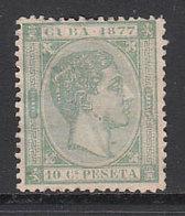 Cuba Sueltos 1877 Edifil 39 (*) Mng - Cuba (1874-1898)