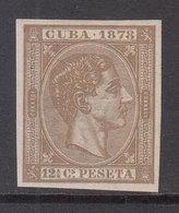 Cuba Sueltos 1878 Edifil 46s * Mh - Cuba (1874-1898)