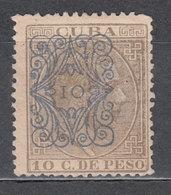 Cuba Sueltos 1883 Edifil 78 (*) Mng - Cuba (1874-1898)