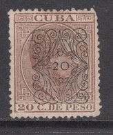 Cuba Sueltos 1883 Edifil 79 (*) Mng - Cuba (1874-1898)