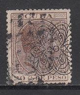 Cuba Sueltos 1883 Edifil 85 O - Cuba (1874-1898)