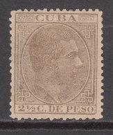 Cuba Sueltos 1883 Edifil 98 * Mh - Cuba (1874-1898)