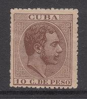 Cuba Sueltos 1883 Edifil 102 (*) Mng - Cuba (1874-1898)