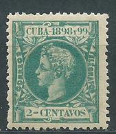 Cuba Sueltos 1898 Edifil 160 * Mh - Cuba (1874-1898)