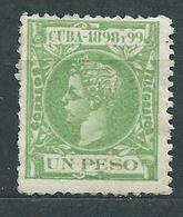 Cuba Sueltos 1898 Edifil 172 * Mh - Cuba (1874-1898)