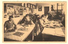A2146[Postkaart] Sanatorium Prince Charles, Auderghem / Atelier D'apprentissage / Dessin - Modelage - Tapis - Tissage - Auderghem - Oudergem