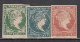 Antillas Correo 1857 Edifil 7/9 (*) Mng - Other