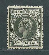 Elobey Sueltos 1905 Edifil 33 * Mh Bonito - Elobey, Annobon & Corisco