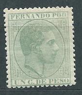 Fernando Poo Sueltos 1882 Edifil 5 * Mh - Fernando Poo