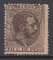 Fernando Poo Sueltos 1882 Edifil 8 O - Fernando Poo