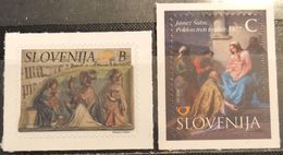 Slovenia, 2015, Mi: 1167/68 (MNH) - Slovenia