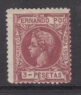 Fernando Poo Sueltos 1903 Edifil 132 * Mh - Fernando Po
