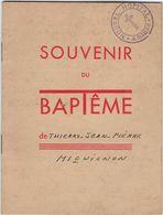 Livret Souvenir Du Bapteme 80 Amiens Avec 20 Pages Annee 1949 - Religion & Esotérisme