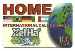 Messico - Tessera Telefonica Da 100 Pesos - Internazionale - Mexico
