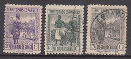 Guinea Correo 1941 Edifil 264/6 O - Guinea Española
