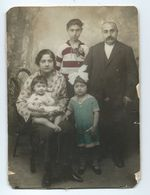 TURQUIE PHOTO  ISTANBUL Famille Dim 15/21 Cm - Personnes Anonymes