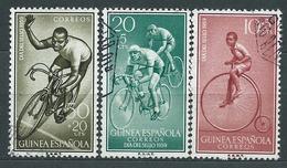 Guinea Correo 1959 Edifil 395/7 O - Guinea Española
