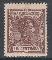 Guinea Sueltos 1907 Edifil 49 ** Mnh - Guinée Espagnole