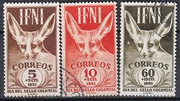 Ifni Correo 1951 Edifil 76/8 O - Ifni