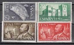 Ifni Correo 1961 Edifil 179/82 ** Mnh - Ifni