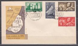 Ifni Sobres 1� D�a 1961 Edifil 179/82 - Ifni
