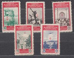 Marruecos Correo 1949 Edifil 325/9 ** Mnh - Marruecos Español