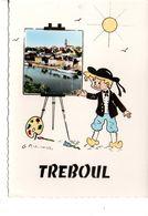 CPSM TREBOUL Illustrée Par Meunier - Tréboul