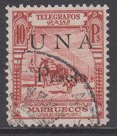 Marruecos Sueltos Telegrafos Edifil 34 O - Spanish Morocco