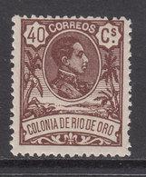 Rio De Oro Sueltos 1909 Edifil 49 ** Mnh - Rio De Oro