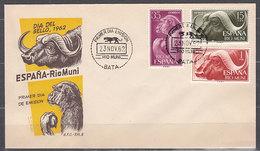 Rio Muni Sobres 1� D�a 1962 Edifil 32/4 - Ríu Muni