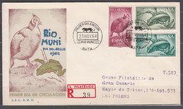 Rio Muni Sobres 1� D�a 1964 Edifil 57/9 - Ríu Muni