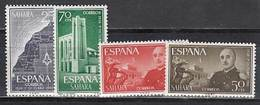 Sahara Correo 1961 Edifil 193/6 ** Mnh - Spanische Sahara