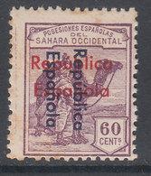 Sahara Variedades 1935 Edifil 44Db (*) Mng  Sobrecarga Vertical De Arriba A Abaj - Spanische Sahara