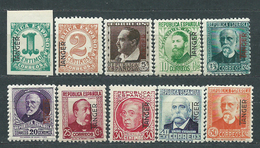 Tanger Correo 1937 Edifil 85/94 ** Mnh  Falta N� 95 - Other