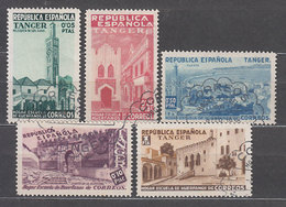 Tanger Beneficencia 1937 Edifil 1/5 O Mng - España