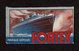 Germany - Solingen FORTEX Vintage Razor Blade & Wrapper / Lame De Rasoir Et Emballage Ancien -  2 Scans - Hojas De Afeitar
