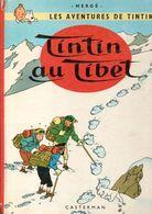 Tintin Au Tibet -  EO/ En  Belgique  Par Les éditions  Casterman à Tournai En 1966 - Tintin