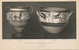 Mycenaean Vases From Cyprus . Mycene - Cyprus