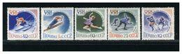 RUSSIA CCCP  - GIOCHI OLIMPICI INVERNALI 1960 - SQUAW VALLEY - MNH - Invierno 1960: Squaw Valley