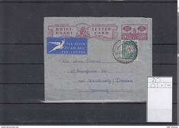 Süd Afrika Michel Cat.No.  Postal Stat Used H&G Aerogramme 25 - South Africa (...-1961)