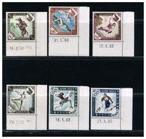 MONACO - GIOCHI OLIMPICI 1960 -  ROMA E SQUAW VALLEY -  MNH - Verano 1960: Roma