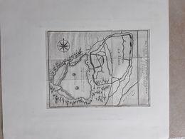PLAN DE LA VILLE DE HANG- TCHEOU - FOU  C.1750  CHINA CHINE AFMETINGEN 15,50 CM OP  21 CM - Maps