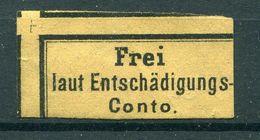 Deutsches Reich Dienst - Michel I Ungebr.(*) Fast OG Kl. Einriß Unten - Service