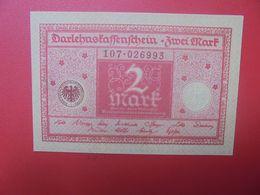 """Darlehenskassenschein 2 MARK 1920 """"ALTROSA""""  CIRCULER (B.15) - 2 Mark"""