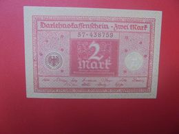 "Darlehenskassenschein 2 MARK 1920 ""ALTROSA""  CIRCULER (B.15) - [ 3] 1918-1933 : República De Weimar"
